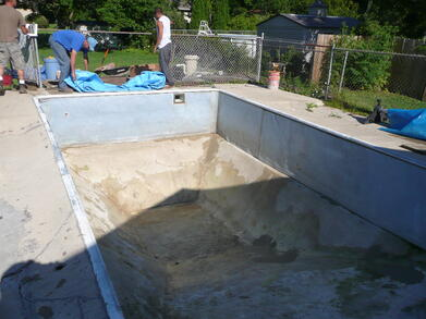 Inground Pool Liner Repalcement Cost Waukesha