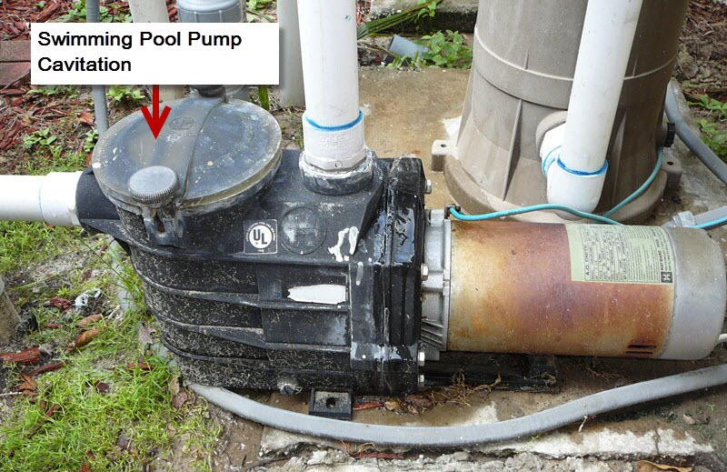 What Cavitation in Your Swimming Pool Pump Looks Like
