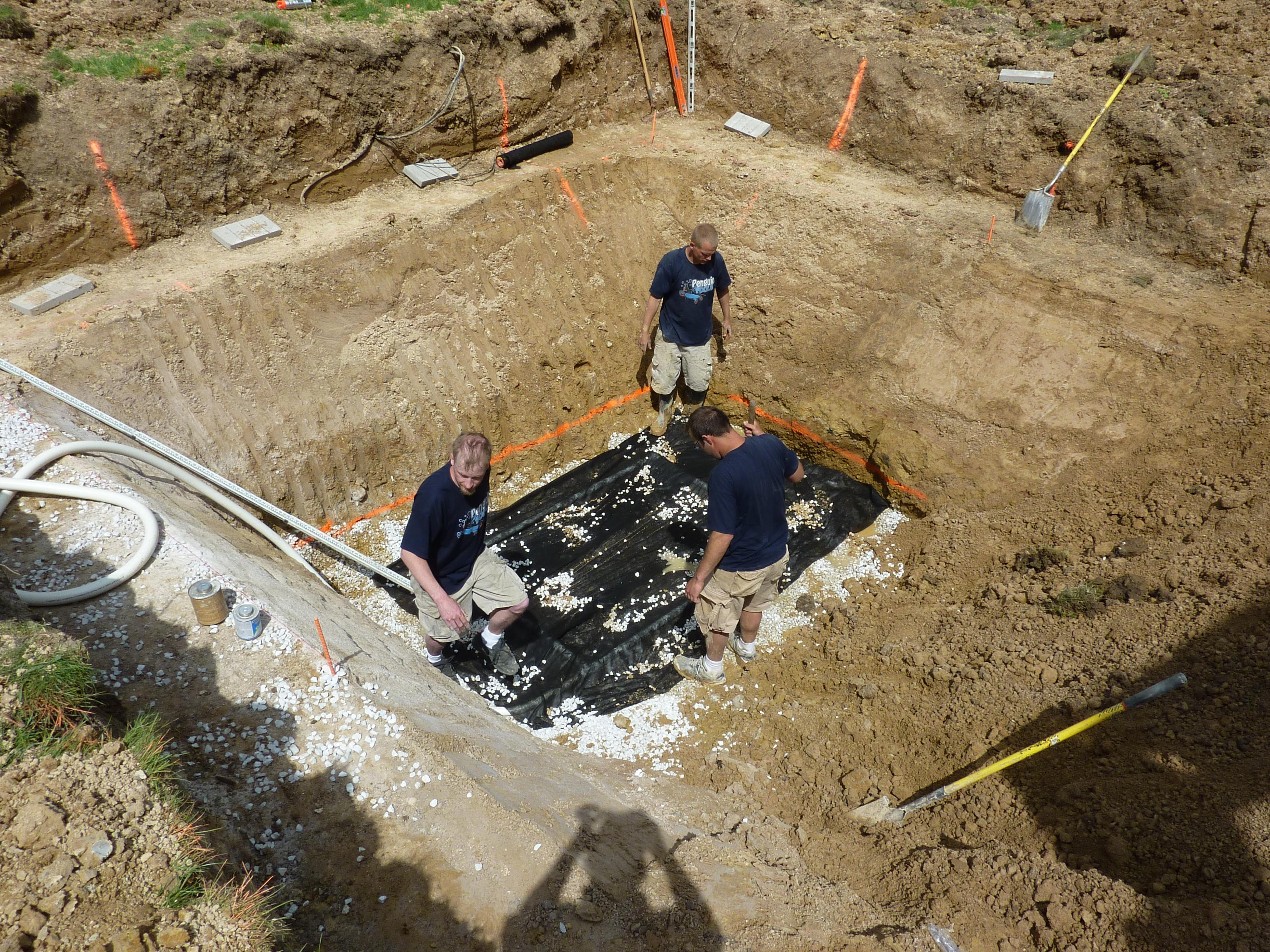 Clay Soils Cause Floating Vinyl Liners Milwaukee