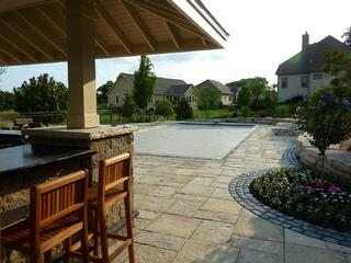 WET Automatic pool cover Waukesha