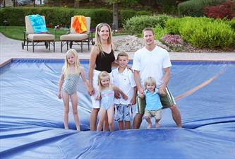 Automatic Pool Cover Provides Great Safety Waukesha