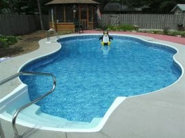 Milwaukee Vinyl Liner Pool Designs