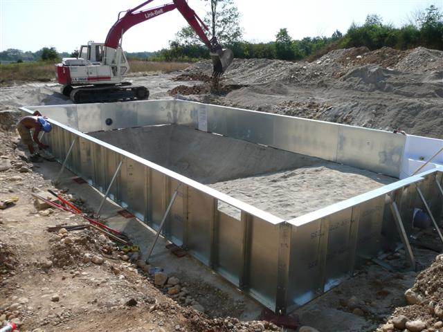 How To Install Inground Pool Walls