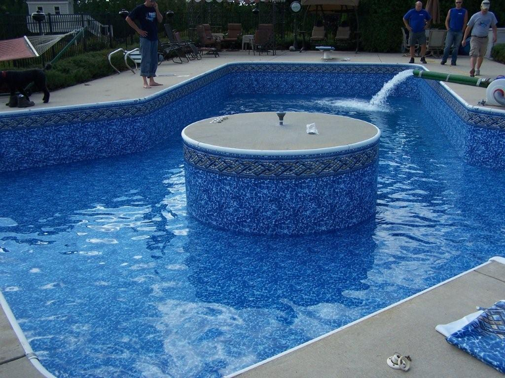 How long does it take to replace an inground pool liner Milwaukee